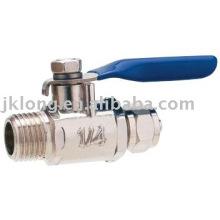 J2007 Brass ball valves with chrome plated FxM