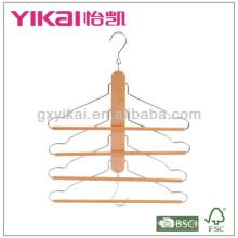 Mutifunction hölzerne hose hanger