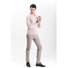 Camisola de Mistura de Cashmere para Moda Masculina 18brssm001