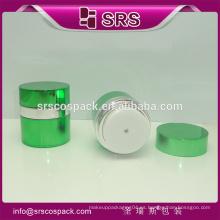 SRS cosméticos acrílico frasco, 15g 30g 50g plástico sin aire recipiente para crema facial