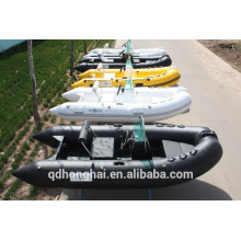 RIB360 boat with ce inflatable boat with rigid floor