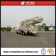 Caminhão De Bomba, Pronto Misturar Caminhões De Concreto Hzz5270thb