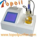 Aceite de turbina de aceite aislante del transformador Probador de humedad de Karl Fischer (TP-2100)