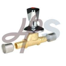 brass PEX stop valve