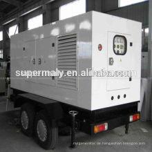 CE Approved Generator Anhänger, 4 Räder + Stille Baldachin