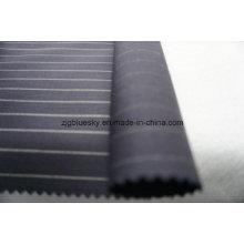 Strip Navy Wool Fabric of 100% Wool