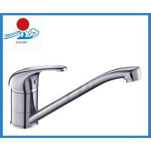 Einhand-Küchenarmatur Messing Wasserhahn (ZR21605)