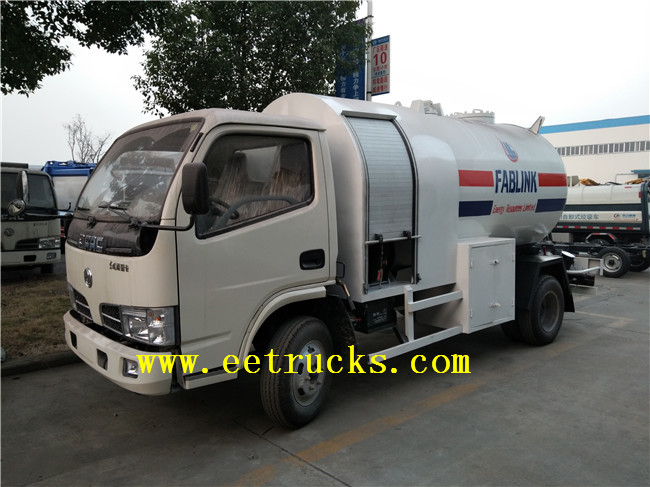 5 CBM LPG Truck Tanks with Pump