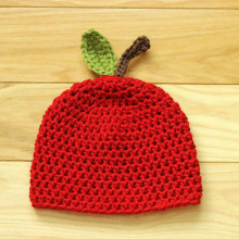 Apple Cotton Baby Crochet Hat