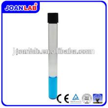 JOAN Lab de venta caliente Boro3.3 vidrio Loboratory tubo de ensayo con tapa de tornillo