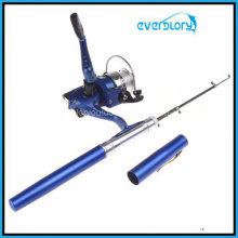 Canne à pêche de pêche de poche de stylo de poche