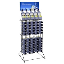 Smart design metal beer beverage display racks cooler