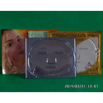 OEM Clear Plastic Blister Tray for Cosmetic Mask