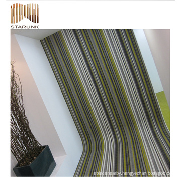 mould proof concrete pvc woven floor tile with high quality