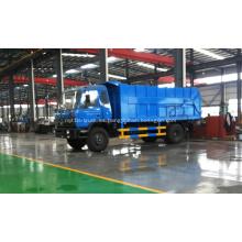 Venta caliente camión volquete de basura Dongfeng 17cbm