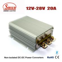Wasserdichter IP68 12V zu 28V 20A 560W DC-DC Konverter