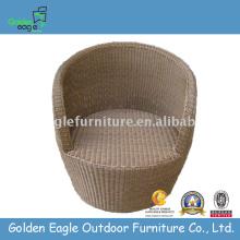 Chaise en rotin en aluminium en osier