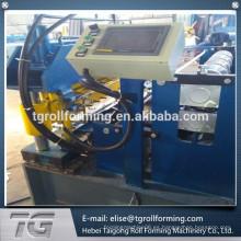Sistema de control CNC sistema de techos de doble capa de rollo de la máquina formadora de ofrecer un servicio verdaderamente global
