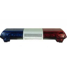 Los vehículos con patrón de destellos de color azul rojo utilizan barras de destellos de LED para camiones