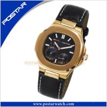 O quartzo personalizado Psd-2298 olha relógios de aço inoxidável