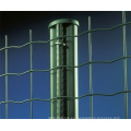 PVC revestido de malla de alambre metálico soldado valla (Anjia-080)