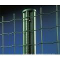 ПВХ покрытием сварных металлической сетки забор (Anjia-080)