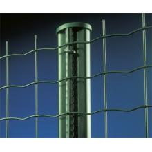 PVC-beschichteter geschweißter Metalldraht-Zaun (Anjia-080)