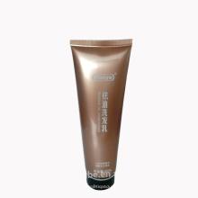 200 ml shampoo tubo de embalagem de plástico macio flip top cap