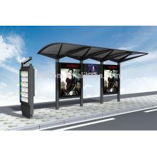 Refugio de tránsito para publicidad