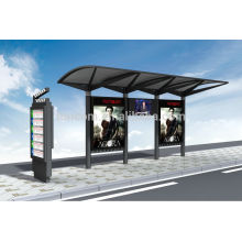 transit shelter for advertising