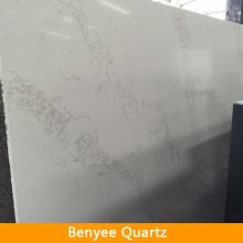 Newstar 3cm Calacatta Nuvo artificial statuary white quartz slabs