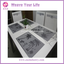 Fitted plastic tablecloths with PVC coated material / Waterproof / Anti-slip