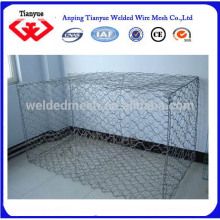 Quality Guarantee 270g hot dipped Galvanized Gabion Box
