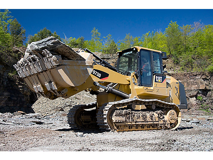 cat 973D SH crawler loader