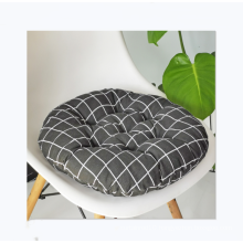 wholesale round cotton and linen style chair cushion for office car