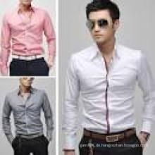 2016 Neues Design 100% Baumwolle Fashion Man Shirt