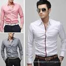 2016 New Design 100%Cotton Fashion Man Shirt