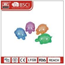 Schildkröte-förmigen Mini Kunststoff Käsereibe, Haixing