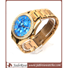 Rose Gold Quartz and Waterproof Men′s Watch with Alloy
