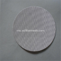 Ultrathin Lebar 304 316 Mesh Stainless Steel Filter