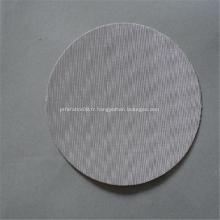 Maille de filtre d'acier inoxydable de la largeur 304 316 ultra-mince