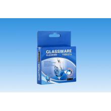 Tablettes de nettoyage de verrerie