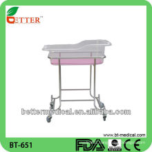 Foshan Stainless Steel Baby Crib with CE and ISO Approved