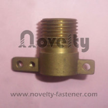 Brass fitting for pipe (compression)