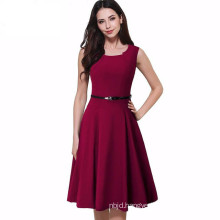 Ladies Office Dress Sleeveless Dresses