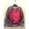 Romance Pink Rose Dance Sweater