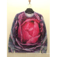Romance Pink Rose Dance Sweater