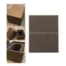 Boîte cadeau emballée à la main personnalisée pliable