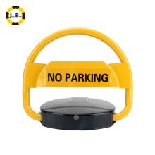 Solar + bloqueo de estacionamiento automático con pilas