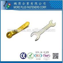 Taïwan en acier inoxydable Types de cuivre de Spanner Bi Side Spanner Multi Purpose Spanner